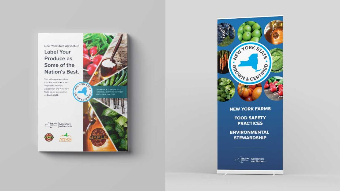 NYS Grown & Certified Print Materials